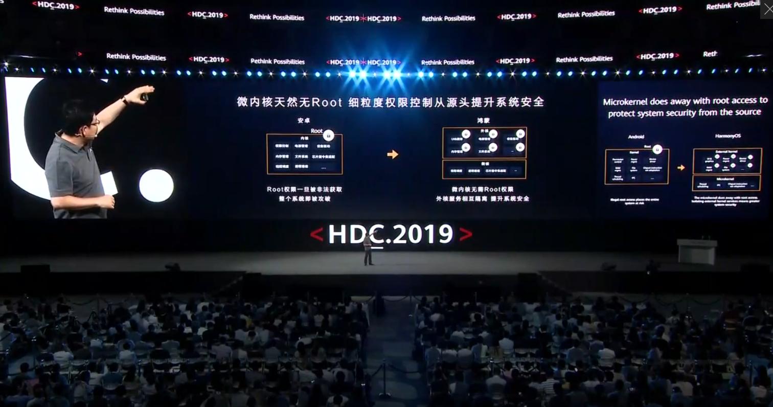 苏耀峰带你走近2019华为开发者大会——鸿蒙操作系统发布-学霸时光机